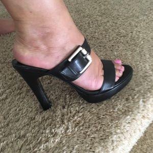 Michael Kors Leather Sandals Slides